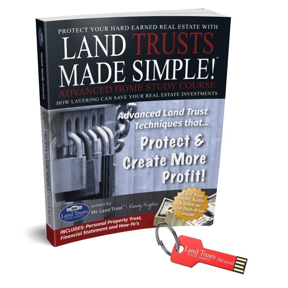 Land Trusts Made Simple Advanced Home Study with USB