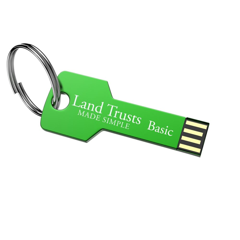 Land Trusts Made Simple Basic Home Study USB