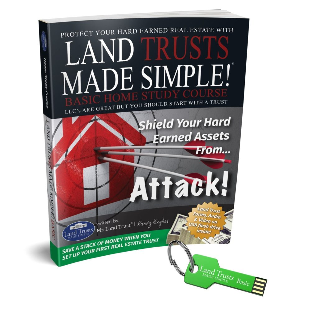 Land Trusts Made Simple Basic Home Study with USB